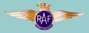 RAF Ferry Command metal pilot badge, 1941-43